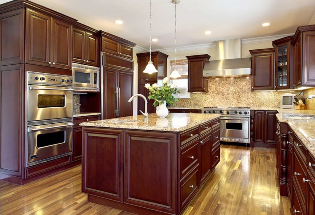 Elite Merlot Kitchen Cabinets