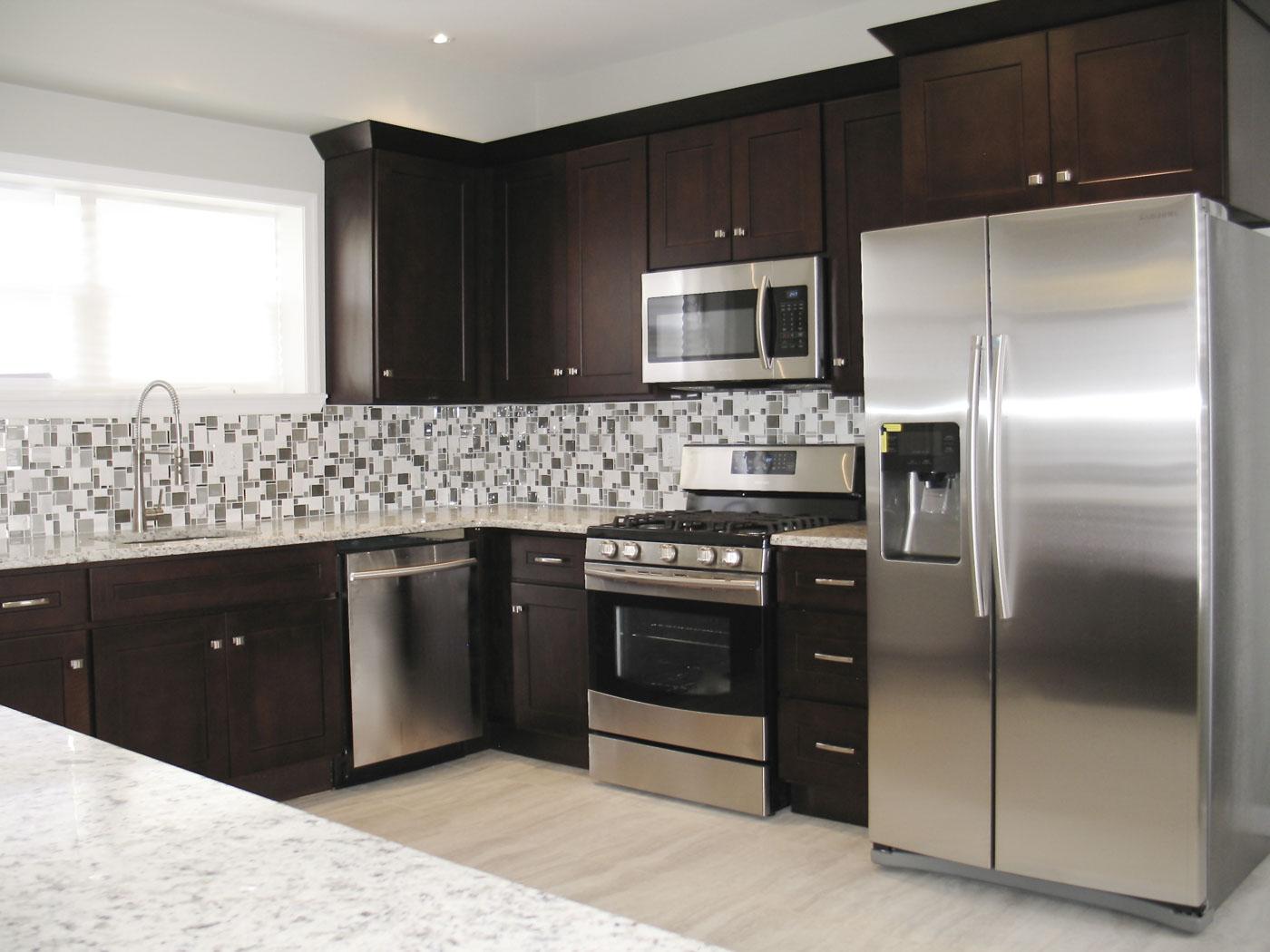 Espresso Shaker - Kitchen Cabinets