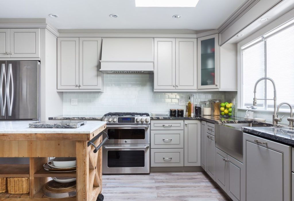 GREIGE MAPLE - Kitchen Cabinets