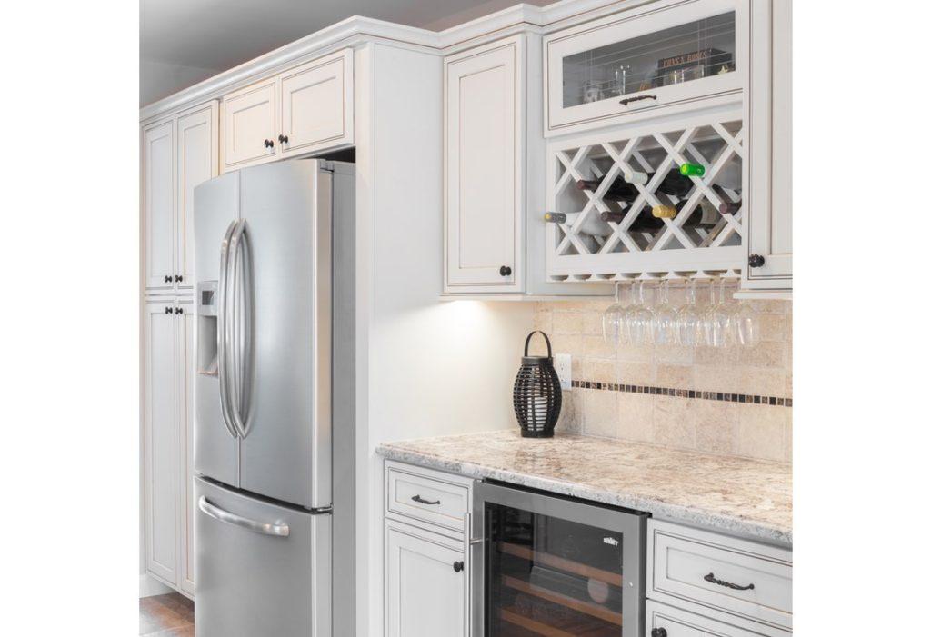Pearl Maple Glaze Kitchen Cabinets