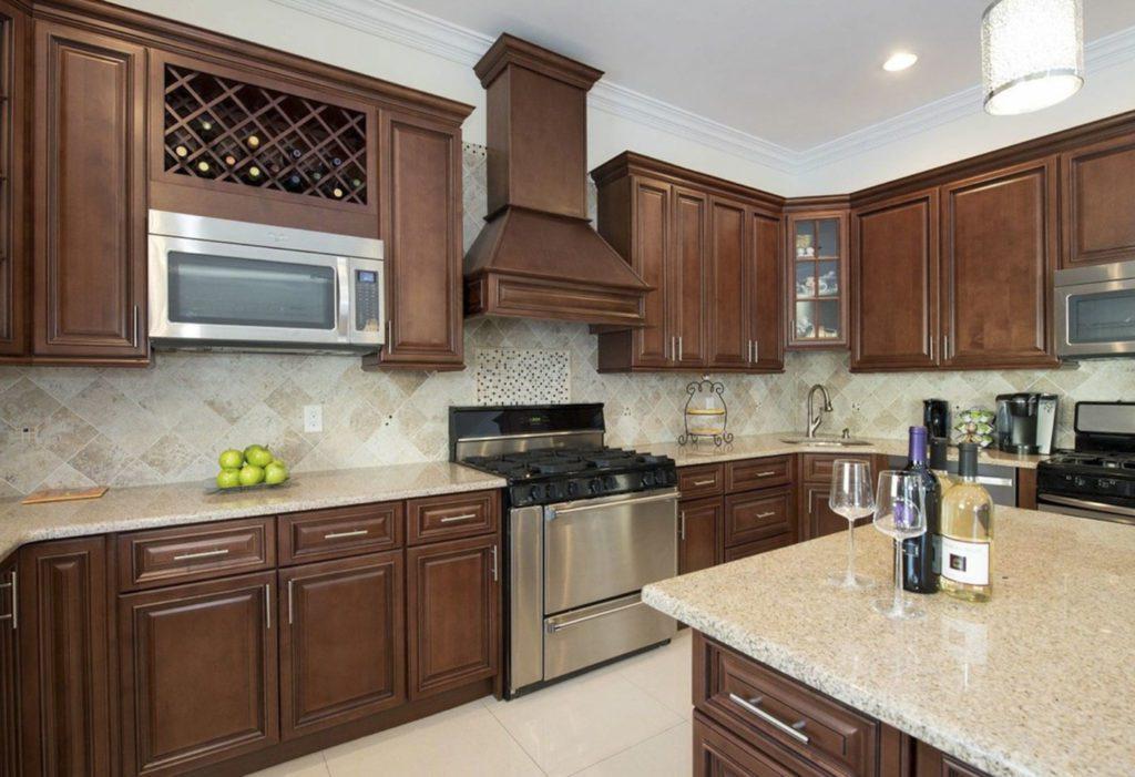 Sierra Brown Kitchen Cabinets