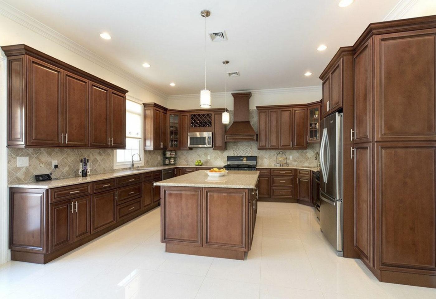 CABINET CONSTRUCTION & Sierra Brown \u2013 Kitchen Cabinets