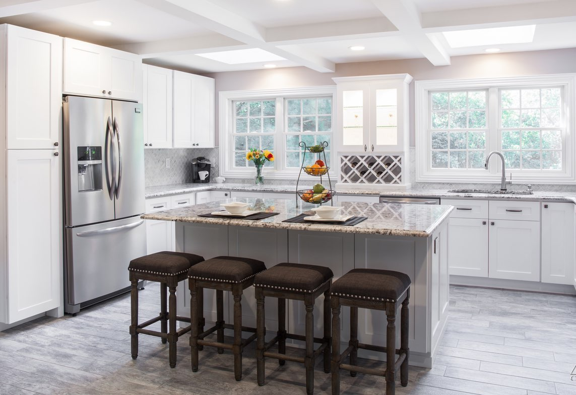 2018 Kitchen Trends – White Shaker